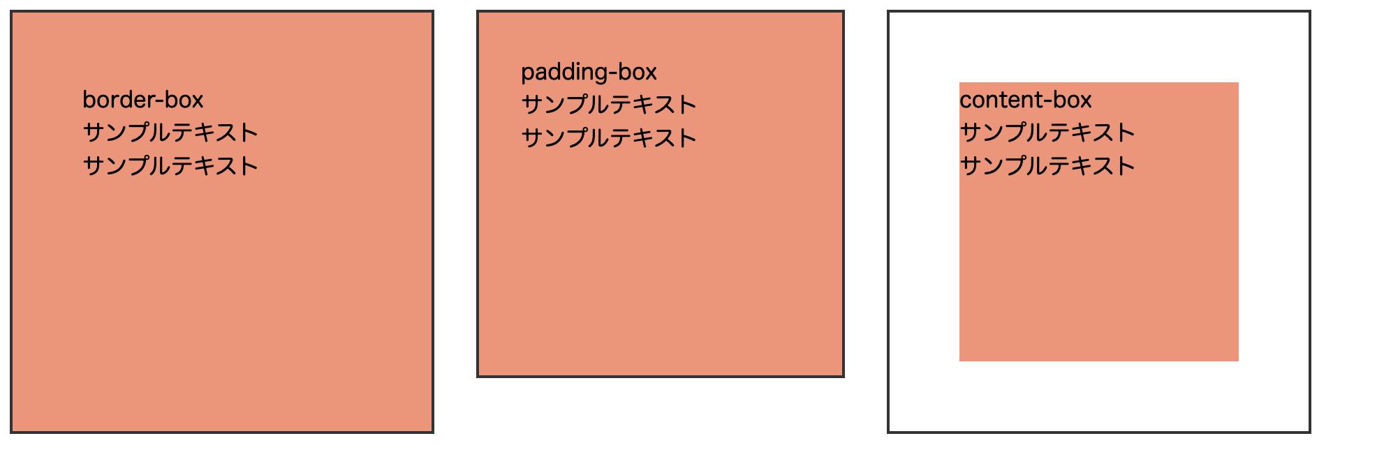 背景色の範囲を指定する